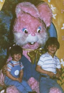 That bunny is terrifying.